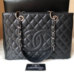 ❤️ CHANEL - Caviar Quilted Grand Shopping Tote